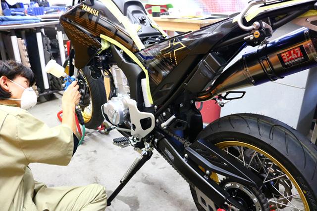 バイク専用ガラスコーティング